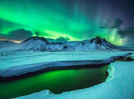 ویدیو حیرت انگیز از طبیعت بی نظیر ایسلند
