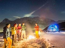 راهنمای کمپ زدن در زمستان