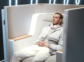 پیشرفته ترین صندلی هواپیمایی جهان رونمایی شد 