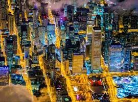 تصاویری از شهرهایی که خاموشی ندارند