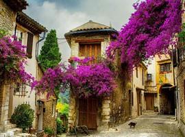 روستای رویایی در فرانسه + تصاویر