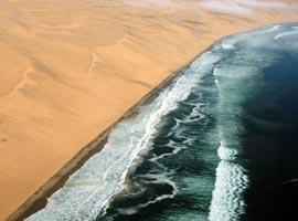 نامیب، کویری ساحلی، خواهر دوقلوی درک در آفریقا! +تصاویر