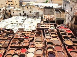 جاذبه های دیدنی شهر فاس در مراکش + تصاویر
