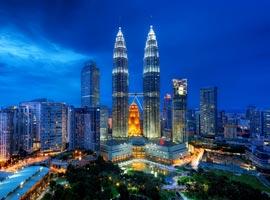 سفرنامه کوالالامپور(شهری با ساختمانهای بلند و مردمی متواضع)بخش 1