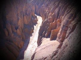 دره راگه؛ بهشتی در قلب کویر + تصاویر