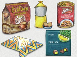 سوغاتی های که می توانید از مالزی برای عزیزان خود بیاورید!