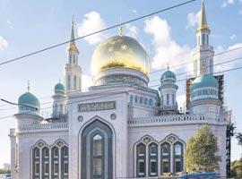 بزرگترین مسجد اروپا، در مسکو افتتاح شد + تصویر