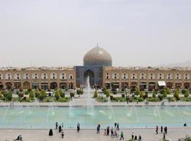 دور نصفی از جهان در سه روز(سفرنامه اصفهان)