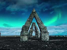 ایسلند زیر نور ماه ( ویدئو )  