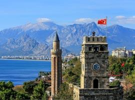 سفری به آنتالیا و سرزمین افسانه ها-بخش اول