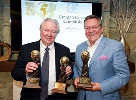 درخشش هتل چراغان پالاس کمپینسکی در World Travel Awards