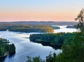 فنلاند ، سرزمین هزاران دریاچه