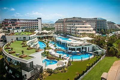 هتل لانگ بیچ هارمونی، آلانیا