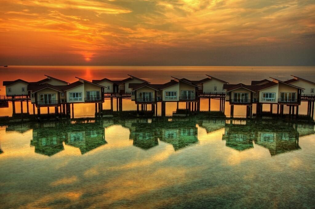 هتل ترنج کیش، اولین هتل دریایی ایران + تصاویر