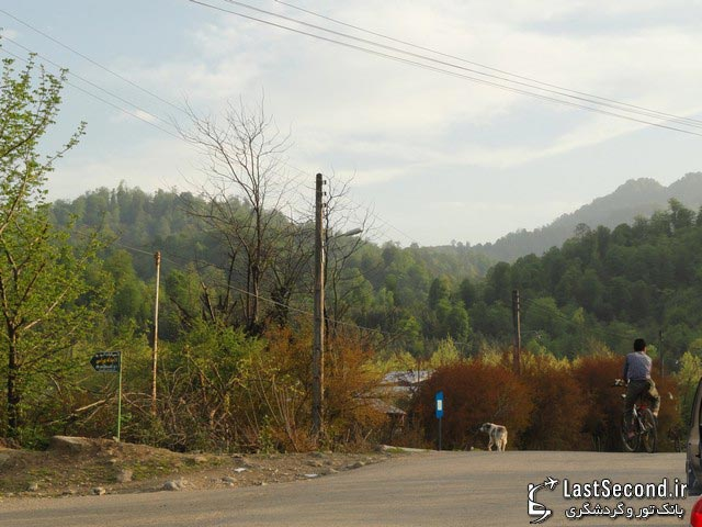 آبشار ویسادار آبویار - روستای پره سر